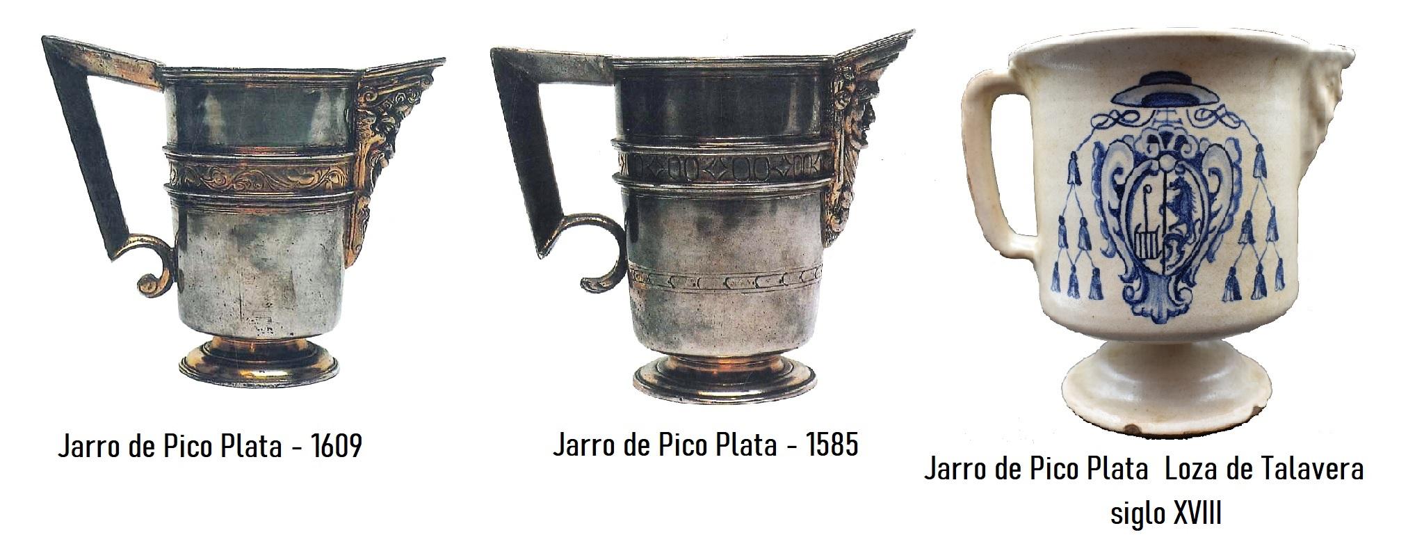 JARRO D EPICO LOZA TALAVERA SIGLO XVI EL ESCORIAL